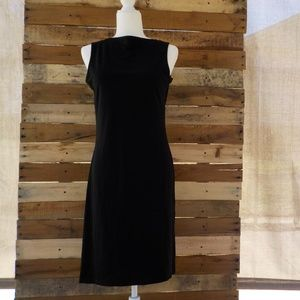 *SALE* Mary McFadden Collection black dress large